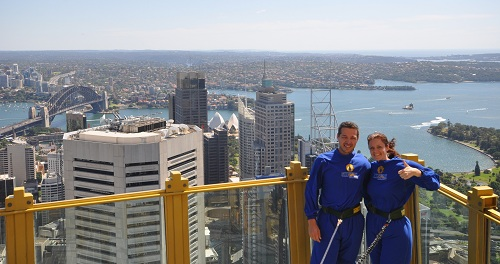 Sydney Tower Eye, Sydney Skywalk, Sydney attractions, Sydney viewving platform, view over Sydney, Australia travel, travel to Australia