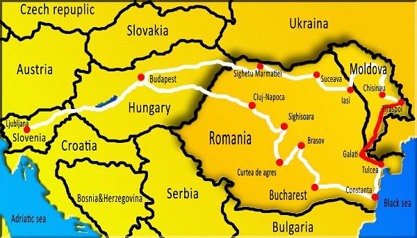 Travel To Transnistria Pridnestrovian Moldovian Republic Nina - Transnistria map