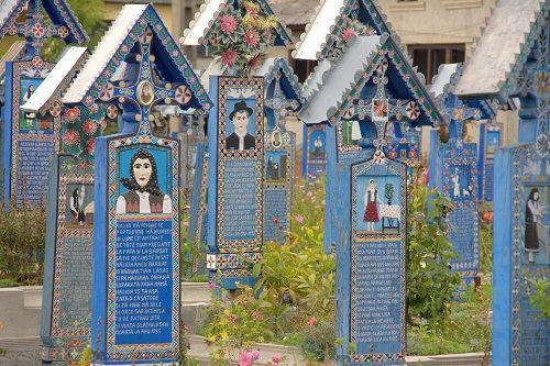 merry cemetery, mocanita steam train ride, holocaust museum