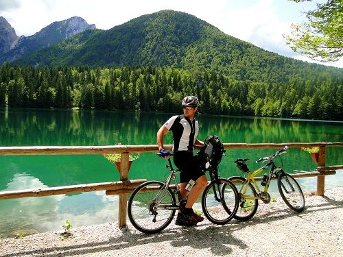 belopeska lakes, lakes in slovenia, cycling in Slovenia