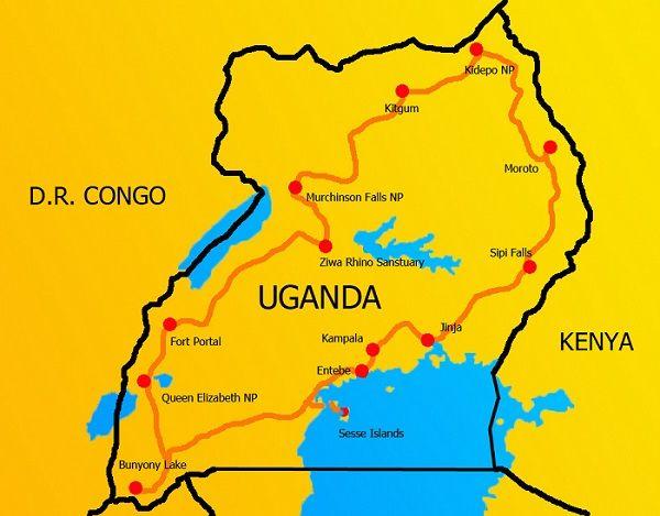 Uganda seldrive, uganda travel itinerary, traveling to uganda, uganda travel, uganda map