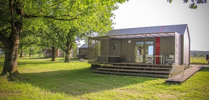 Luxury Big Berry camp at the River Kolpa in Slovenia (review)