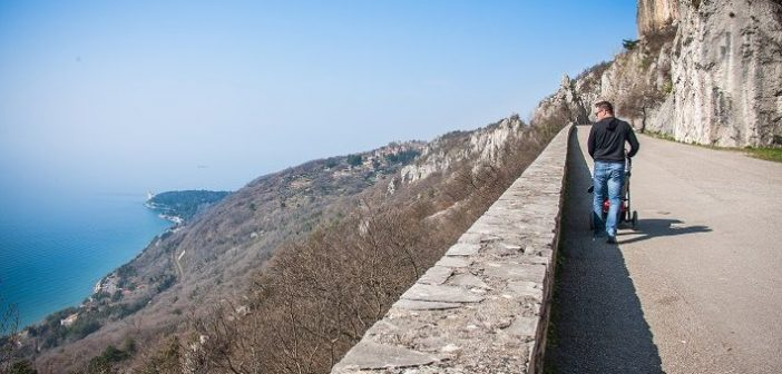 Visiting Trieste? Take a walk on the scenic Napoleon's Road