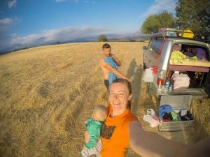 traveling with a baby, overland traveling, traveling by car