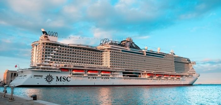 MSC Seaside – the new cruise ship, which knocked us off the feet