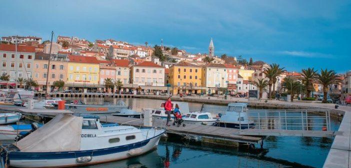 Spending time on the Lošinj Island, Croatia