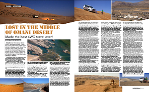 Oman travel - OutdoorUAE Magazine