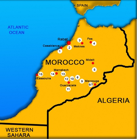 Morocco travel guide, travel to Morocco, things to do in Morocco, Morocco travel tips, Places to visit in Morocco