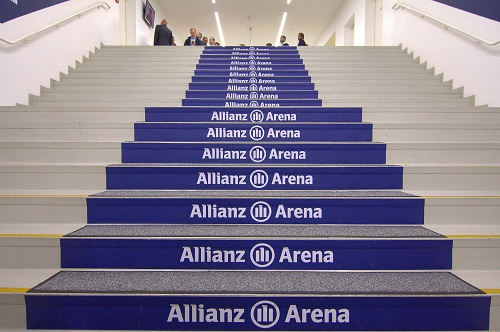 The Allianz Arena, FC Bayern, Munich football stadium, FC Lions, Munich Allianz Arena