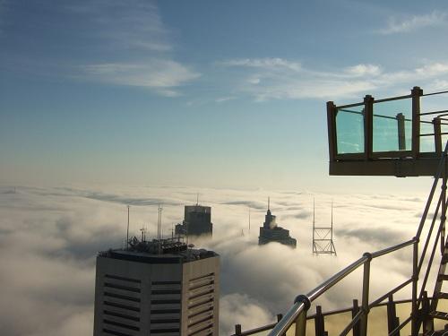 Sydney Tower Eye, Sydney Skywalk, Sydney attractions, Sydney viewving platform, view over Sydney, Australia travel, travel to Australia