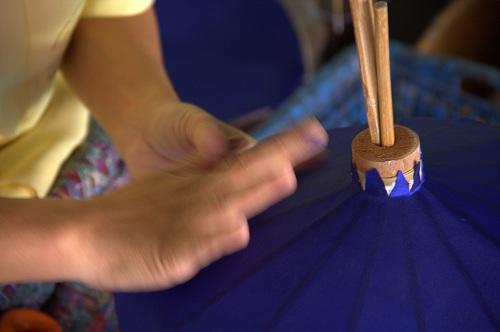 Bo Sang Thailand, traditional umbrella making in Thailand, Thailand tradition