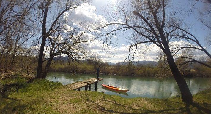 Ljubljanica River, kayak tour along Ljubljanica River, kayak tour Ljubljana