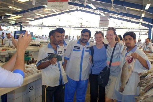 Dubai fish market, Deira fish market