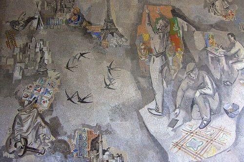 spilimbergo mosaic school, mosaic school, the mosaic school, mosaic art school