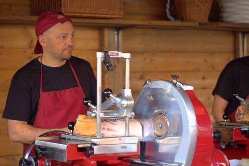 San Daniele prosciutto, Italian prosciutto, prosciutto tasting, prosciutto factory guided tour