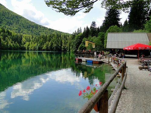 belopeska lakes, lakes in slovenia, cycling in Slovenia