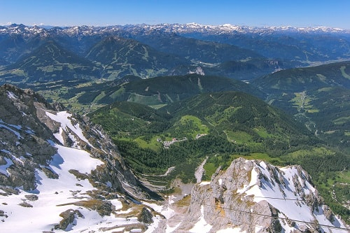 Dachstein Sky Walk, Sky Walk Austria, Schladming Austria