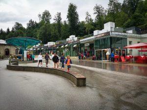 Germany, Salt mine – Salzbergwerk Berchtesgaden, theme park