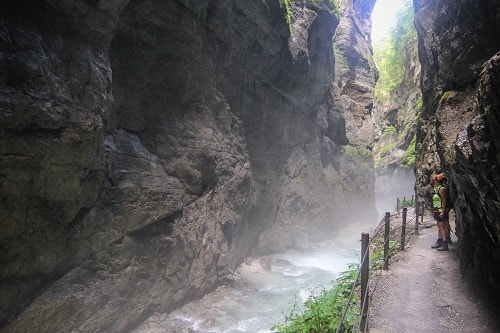 Partnach gorge, Partnachklamm, Partnach gorge Garmisch-Partenkirchen