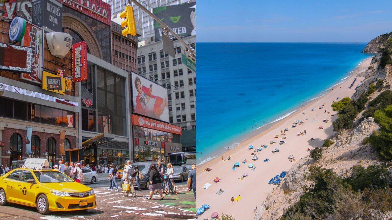 New York City or Greece?
