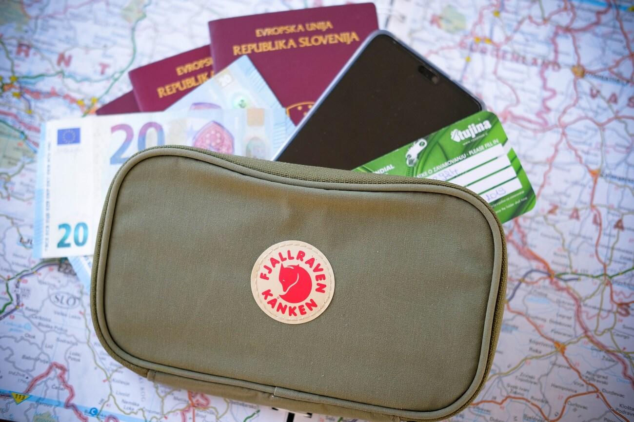 travel wallet, Kanken travel wallet, Fjallraven travel wallet