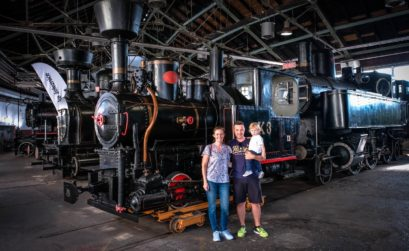 slovenian railway museum, things to do in Ljubljana, Ljubljana with kids