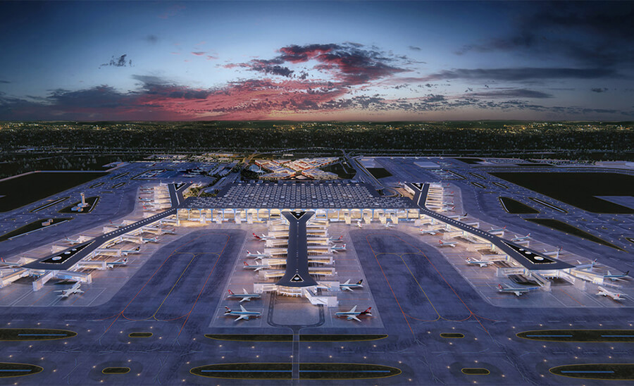 Istanbul airport, new Istanbul airport
