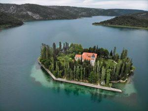 Vodice, Croatia, summer in Croatia