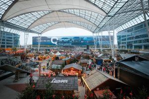 Munich airport, Christmas market, Munich Christmas markets