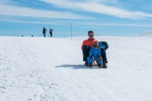 sledding, Dobratsch, winter activities, Carinthia
