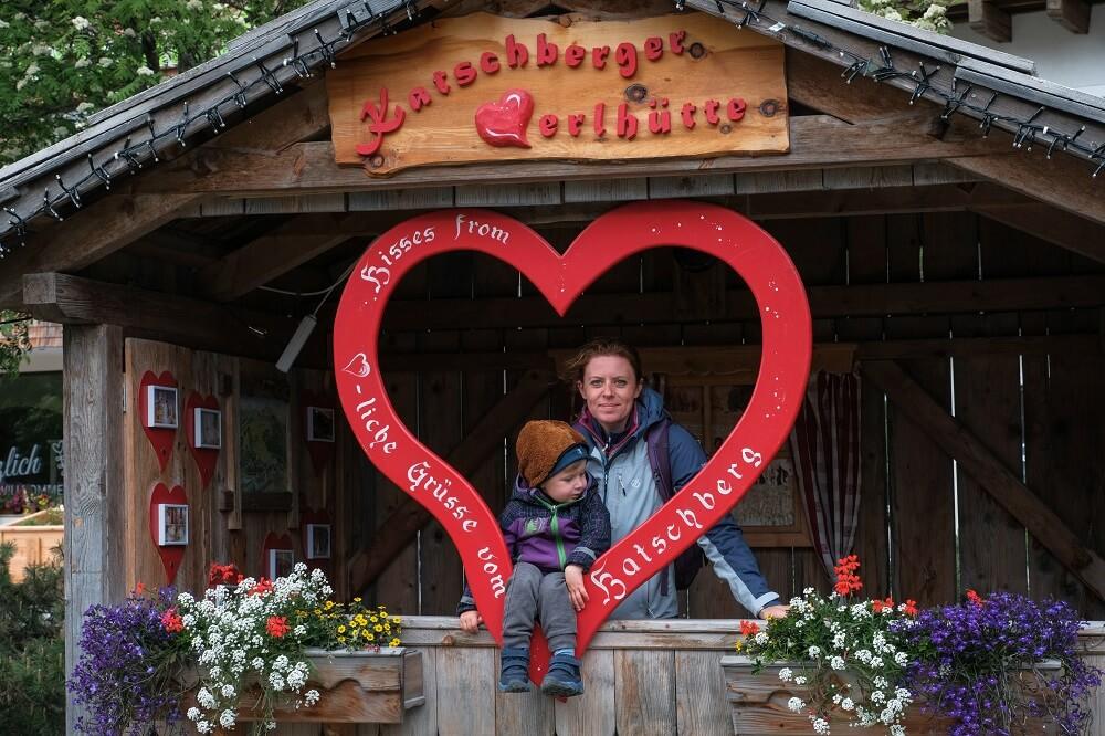 Katschberg, summer in Katschberg, summer in Austria